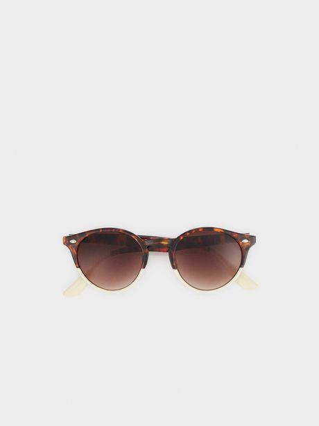 Oferta de Gafas De Sol Redondas Tortoise por 12,99€