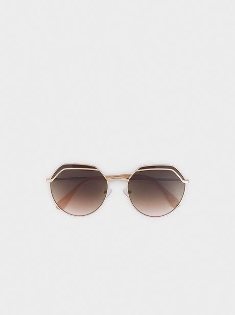 Oferta de Gafas De Sol Metálicas Redondas por 14,39€