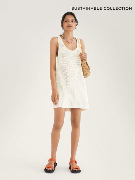 Oferta de Vestido De Punto Confeccionado Con Materiales Reciclados Limited Edition por 25,99€
