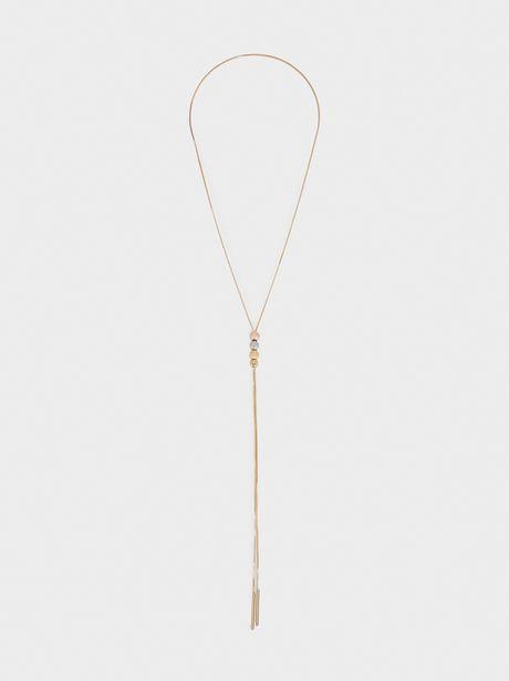 Oferta de Collar Largo Abalorios por 4,99€