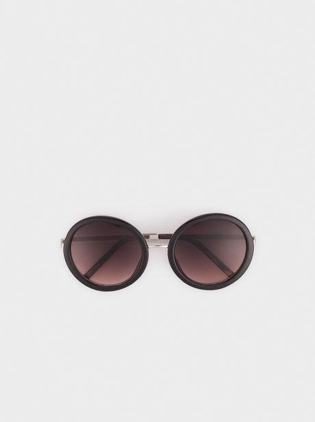 Oferta de Gafas De Sol De Pasta Redondas por 14,39€