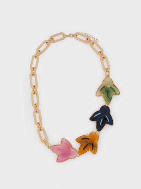 Oferta de Collar Corto Resina por 5,99€