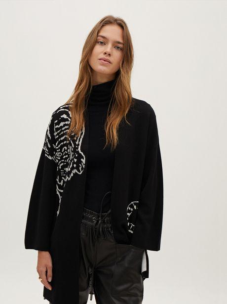 Oferta de Kimono De Punto Abierto por 19,99€