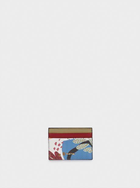Oferta de Tarjetero Estampado Multicolor por 4,99€