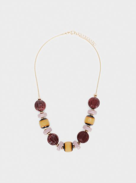 Oferta de Collar Corto Multicolor por 4,99€