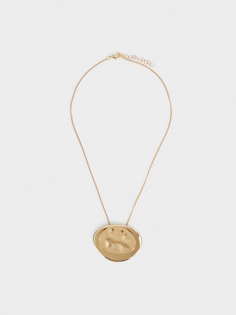 Oferta de Collar Corto Con Colgante Dorado por 4,99€