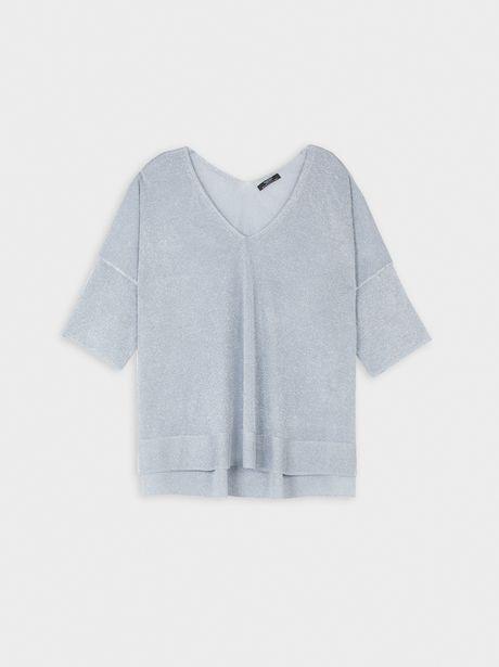 Oferta de Jersey Cuello Pico Oversize por 15,99€