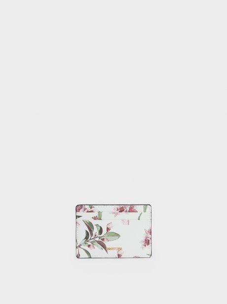 Oferta de Tarjetero Estampado Floral por 4,99€