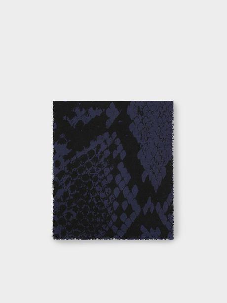 Oferta de Maxi Bufanda Estampado Serpiente por 12,99€