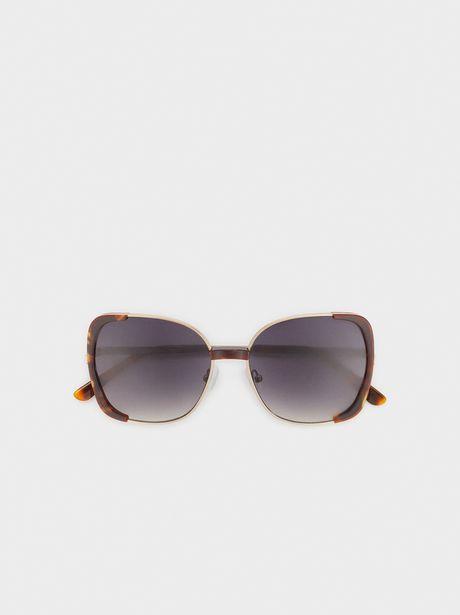 Oferta de Gafas De Sol Cuadradas Tortoise por 12,99€