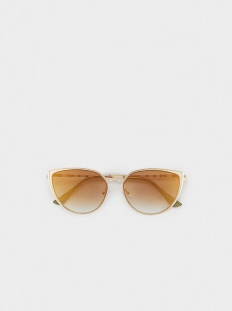 Oferta de Gafas De Sol Cat Eye De Metal por 17,99€