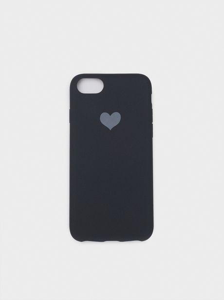 Oferta de Funda Para Móvil Corazón Iphone 6, 7 Y 8 por 4,99€