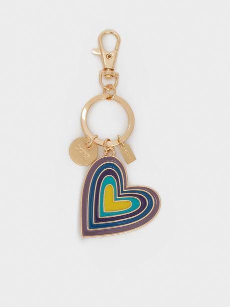 Oferta de Llavero Corazón Multicolor por 5,99€