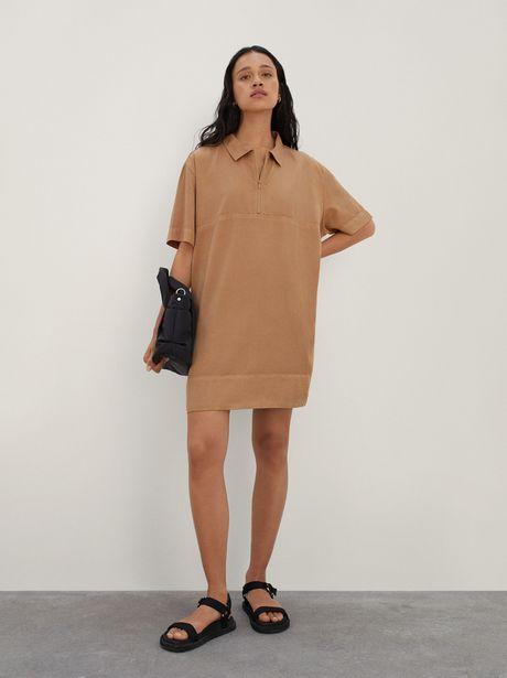 Oferta de Vestido Con Cierre De Lyocell por 29,99€