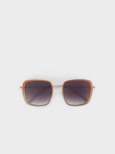 Oferta de Gafas De Sol De Pasta Montura Cuadrada por 15,99€