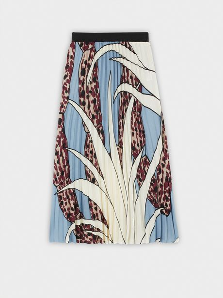 Oferta de Falda Plisada Cintura Elástica por 12,99€