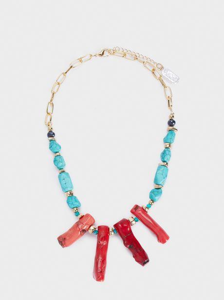 Oferta de Collar Corto Recife Acabado Coral por 7,99€