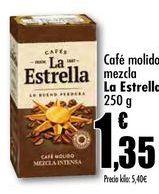 Oferta de Café molido mezcla La Estrella por 1,35€