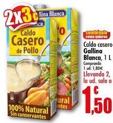 Oferta de Caldo casero Gallina Blanca por 1,8€