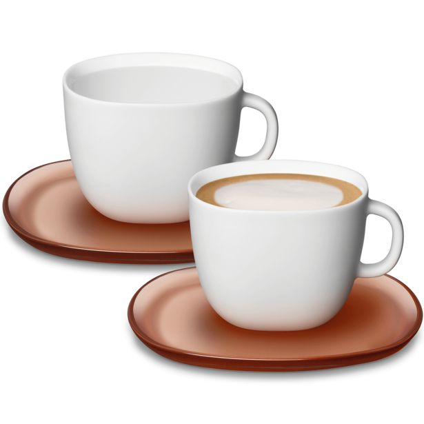 Oferta de Set de tazas Cappuccino LUME por 25€