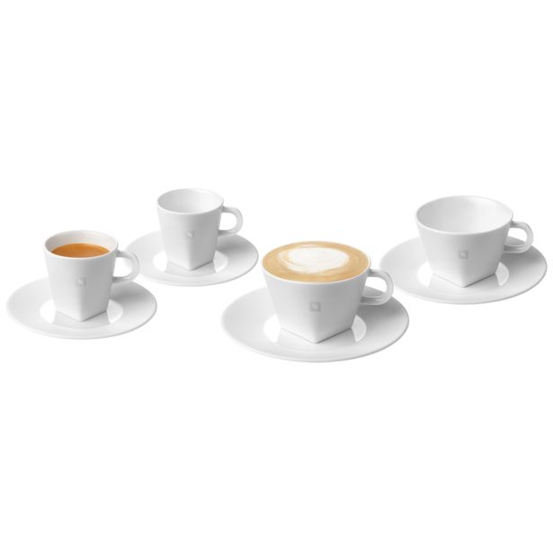 Oferta de Tazas de Café Espresso & Cappuccino PURE por 31,7€