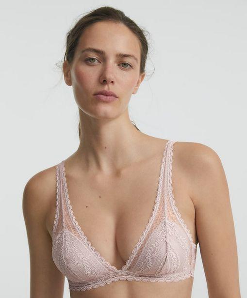 Oferta de Sujetador halter soft lace por 16,99€