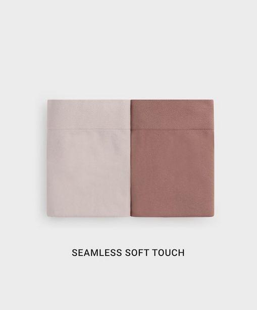 Oferta de 2 braguitas altas seamless soft touch por 12,99€