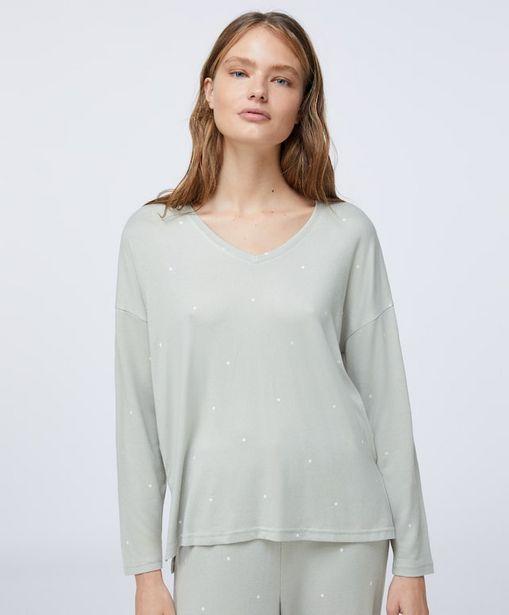 Oferta de Camiseta soft feel topo verde por 14,99€