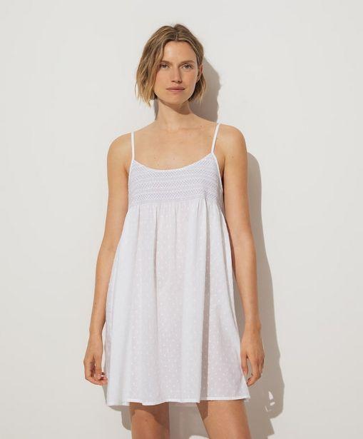 Oferta de Camisón 100% algodón blanco por 22,99€