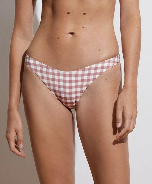 Oferta de Bikini braguita clásica vichy por 12,99€