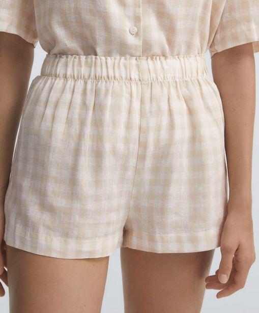 Oferta de Shorts lino vichy por 15,99€