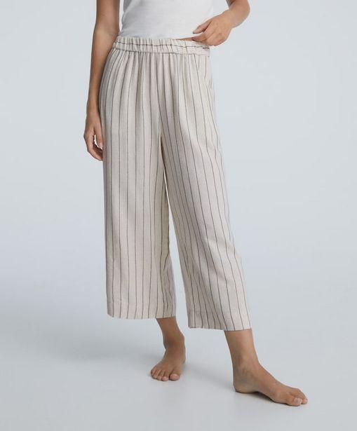 Oferta de Pantalón largo raya metalizada por 29,99€