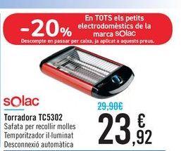 Oferta de Tostador TC5302 Solac por 23,92€
