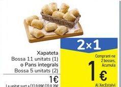 Oferta de Chapatita o panes integrales por 1€