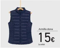 Oferta de Chaleco o camisa hombre por 15€
