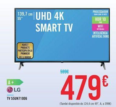 Oferta de TV 55UN71006 LG por 479€