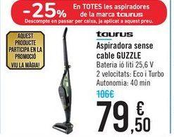 Oferta de Aspirador sin cable GUZZLE Taurus por 79,5€