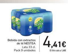 Oferta de Bebida con extractos de té NESTEA por 4,41€