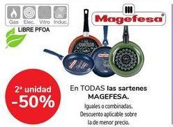 Oferta de En TODAS las sartenes MAGEFESA. por