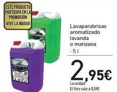 Oferta de Lavaparabrisas aromatizado lavanda o manzana  por 2,95€