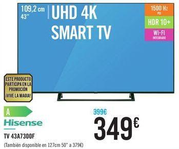 Oferta de TV 43A7300F HISENSE por 349€