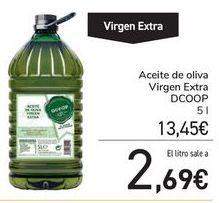 Oferta de Aceite de oliva Virgen Extra DCOOP por 13,45€