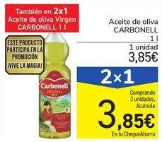 Oferta de Aceite de oliva CARBONELL por 3,85€