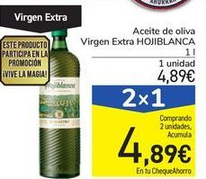 Oferta de Aceite de oliva Virgen Extra HOJIBLANCA por 4,89€