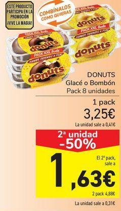 Oferta de DONUTS Glacé o Bombón  por 3,25€