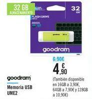 Oferta de Memoria USB UME2 goodram por 4,9€