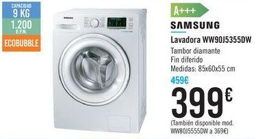 Oferta de Lavadora WW9DJ5355DW SAMSUNG por 399€