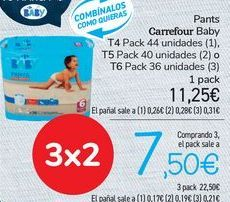 Oferta de Pants Carrefour Baby  por 11,25€
