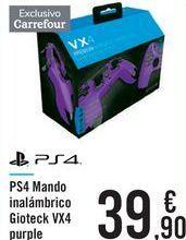 Oferta de PS4 Mando inalámbrico Gioteck VX4 Purple  por 39,9€