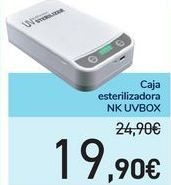 Oferta de Caja esterilizadora NK UVBOX por 19,9€